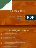 Michelangelo Final Power Point