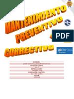 Mantenimiento Preventivo y Correctivo