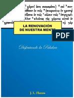 La Renovación de Nuestra Mente.