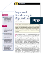 C+F-Prepubertal Gonadectomy in Dogs and Cats.part I