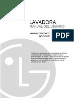 Manual de Lavadora MFL57004703