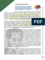 Declaración Política IV Asamblea CRES-PUPSOC y Precongreso Regional Feu-Colombia