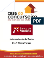 Apostila BNB2014 Int.detexto MariaTereza Site