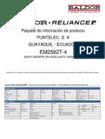 Catalogo Motor Puntelec S. A