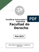 3Reglamento de Abogac-A - Librito 2013 Plan 2013 - Publicaci-n Web