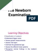 Neonatal Examination
