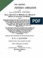 1882-The Modern House Carpenter s Companion-Sylvester