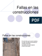 ERRORES CONSTRUCTIVOS
