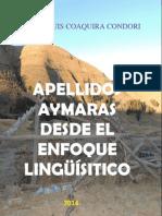 APELLIDOS AYMARAS DESDE EL ENFOQUE LINGÜÍSTICO.docx