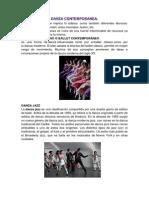 Danza Contemporanea Moderna y Clasica Flolfcklorica