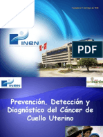Prevencion Cancer de Cuello Uterino