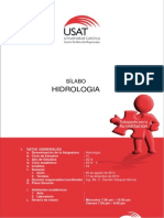 Sílabo 2014 - II Hidrologia