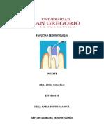 Irrigantes - endodoncia