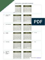 iscj calendar