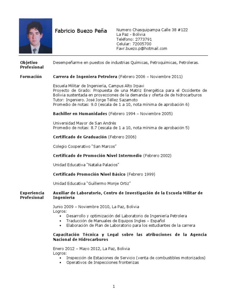 Curriculum-Vitae Fabricio Buezo