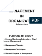 Management in Organization