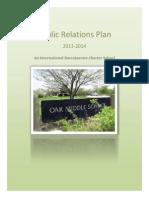 palmosina public relations plan