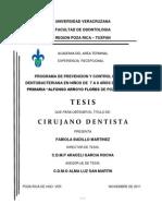 Tesis - Programa de Prevencion y Control de Placa