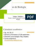 Clase 1 Introducción Al Estudio de La Biología Sem II 2014