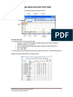 Fungsi Dalam Excel Dan Pivot Table