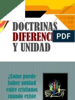 Doctrinas, Diferencias y Unidad