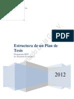 Esquema BDV de Plan Tesis 2012