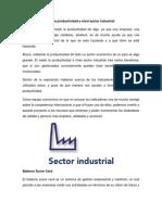 Beneficios de Medir La Productividad a Nivel Sector Industrial