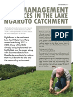 Lake Ngaroto Dairy Farmers using Best Practice