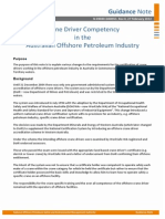 N 09000 GN0955 Crane Driver Competency in the Australian Offshore Petroleum Industry