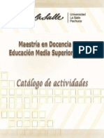 Catago de Actividades 2012 (1)