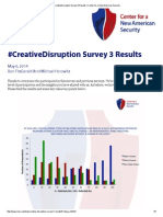 #CreativeDisruption Survey 3 Results _ Center for a New American Security