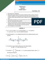 12 Sample Paper