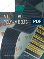 Multipull polyvbelts