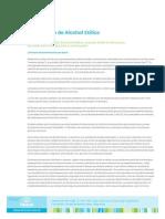 Elaboracion Alcohol Etilico