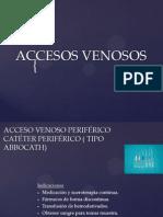 ACCESOS VENOSOS