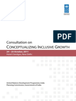 GSIII-consultation on Conceptualizing Inclusive Growth