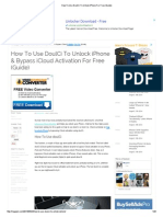 How to Use DoulCi to Unlock iPhone for Free (Guide)