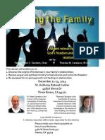 HEALING THE FAMILY RETREAT