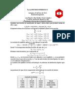 Parcial Metodos Numericos 3er Corte