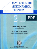 Fundamentos de Termodinámica Técnica, 2da Ed. - Moran Shapiro