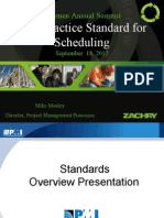 PMI Practice Standard for Scheduling