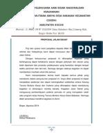 Proposal Jalan Sehat 2014