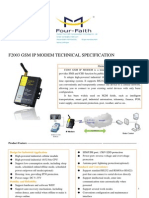 f2003 Gsm Ip Modem Technical Specification
