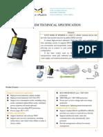 f2303 Edge Ip Modem Technical Specification