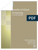 Benefits Cloud Computing Essay