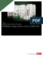 ACS800 Technical Brochure