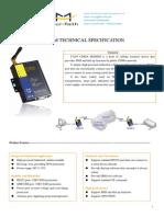 f1203 Cdma Modem Technical Specification