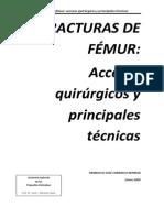 Fracturas de Fémur