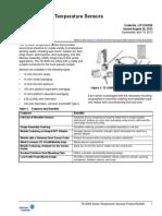 TE-6300 Series Temperature Sensors Pdt Bulletin