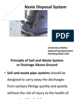 Soil and Waste Disposal System